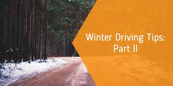 Winter Driving Tips Part 2
